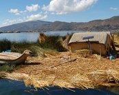 Titicaca meer tijdens rondreis Peru