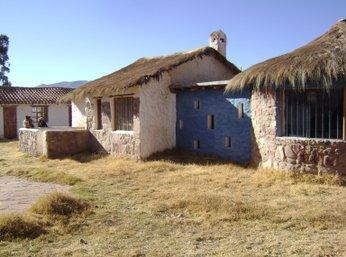 huisjes bewoners Bolivia tijdens Sucre hiking trails