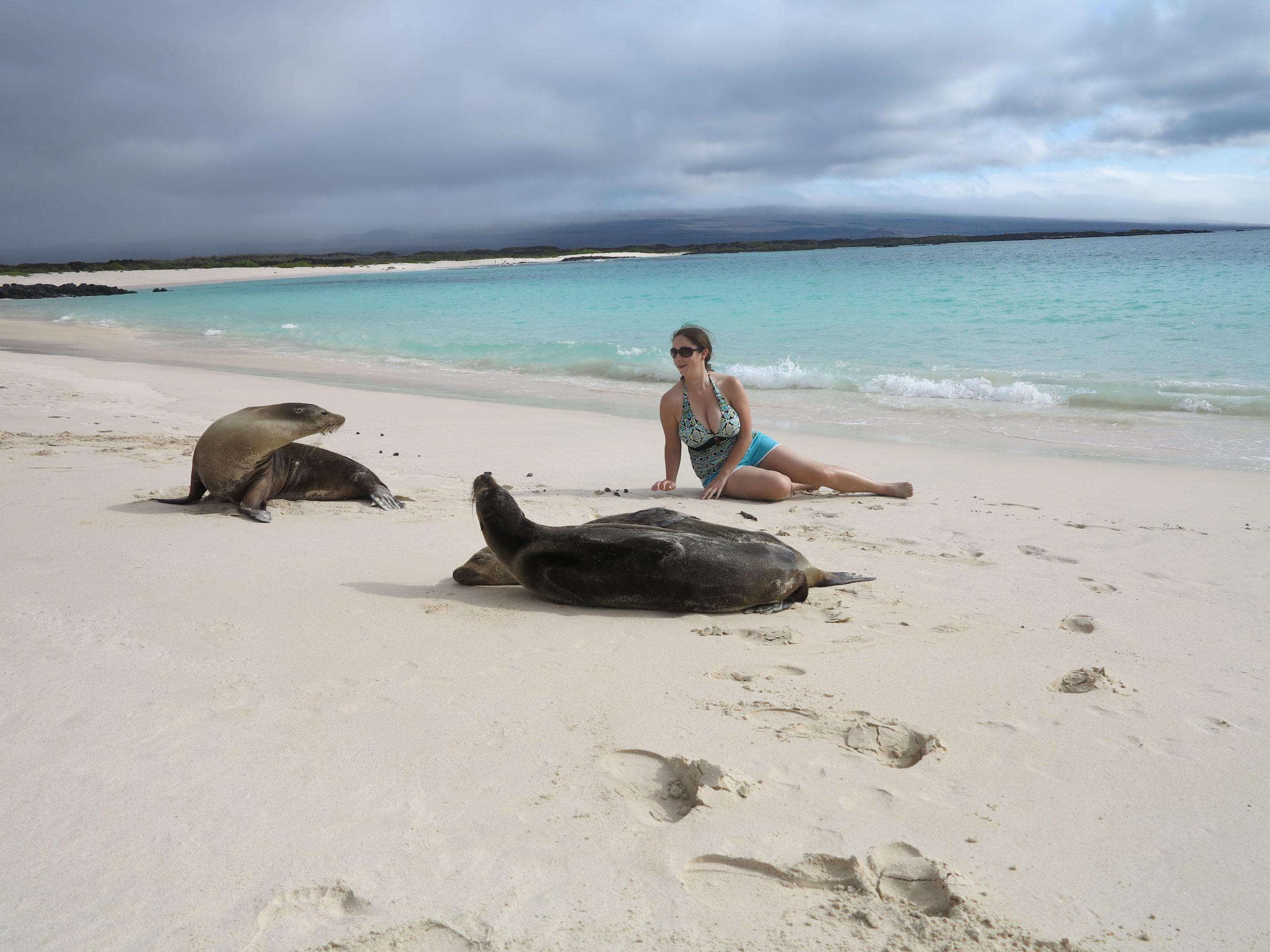 galapagos eilanden bij ecuador
