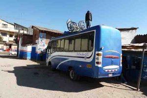 Bus voor Mountainbiken naar Moras