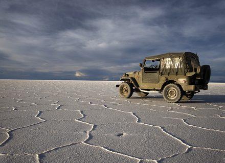 Salar de Uyuni tijdens 23 daagse rondreis Peru Bolivia