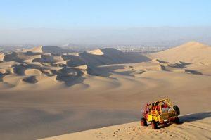 Zandduinen bij Paracas Ica Nazca