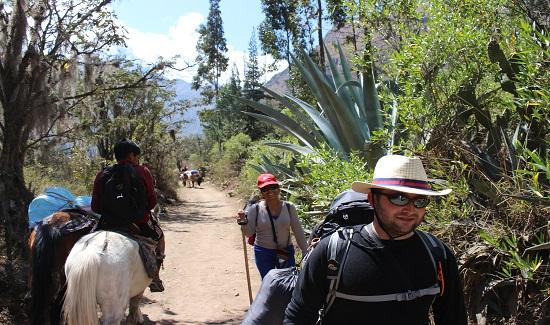 rondreizen peru, Inca Trail