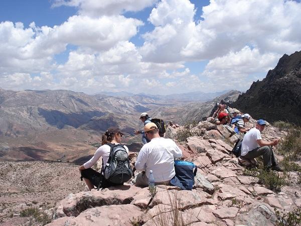 hikings van Peru