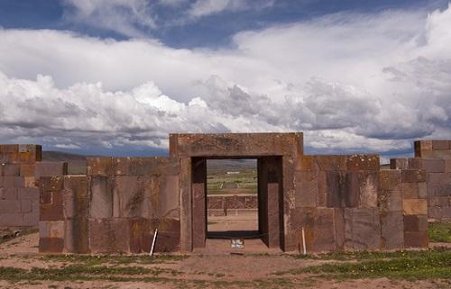 De tiwanaku tempels La Paz