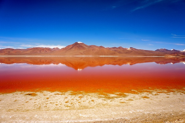 Red lagoon Rondreizen Peru