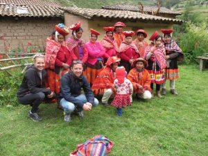 Peruanen in Klederdracht